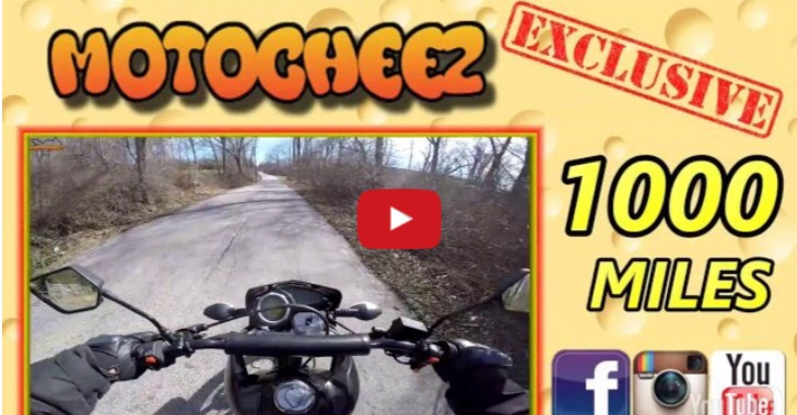 Hawk 250 RPS 1000 Mile Review Video by MotoCheez