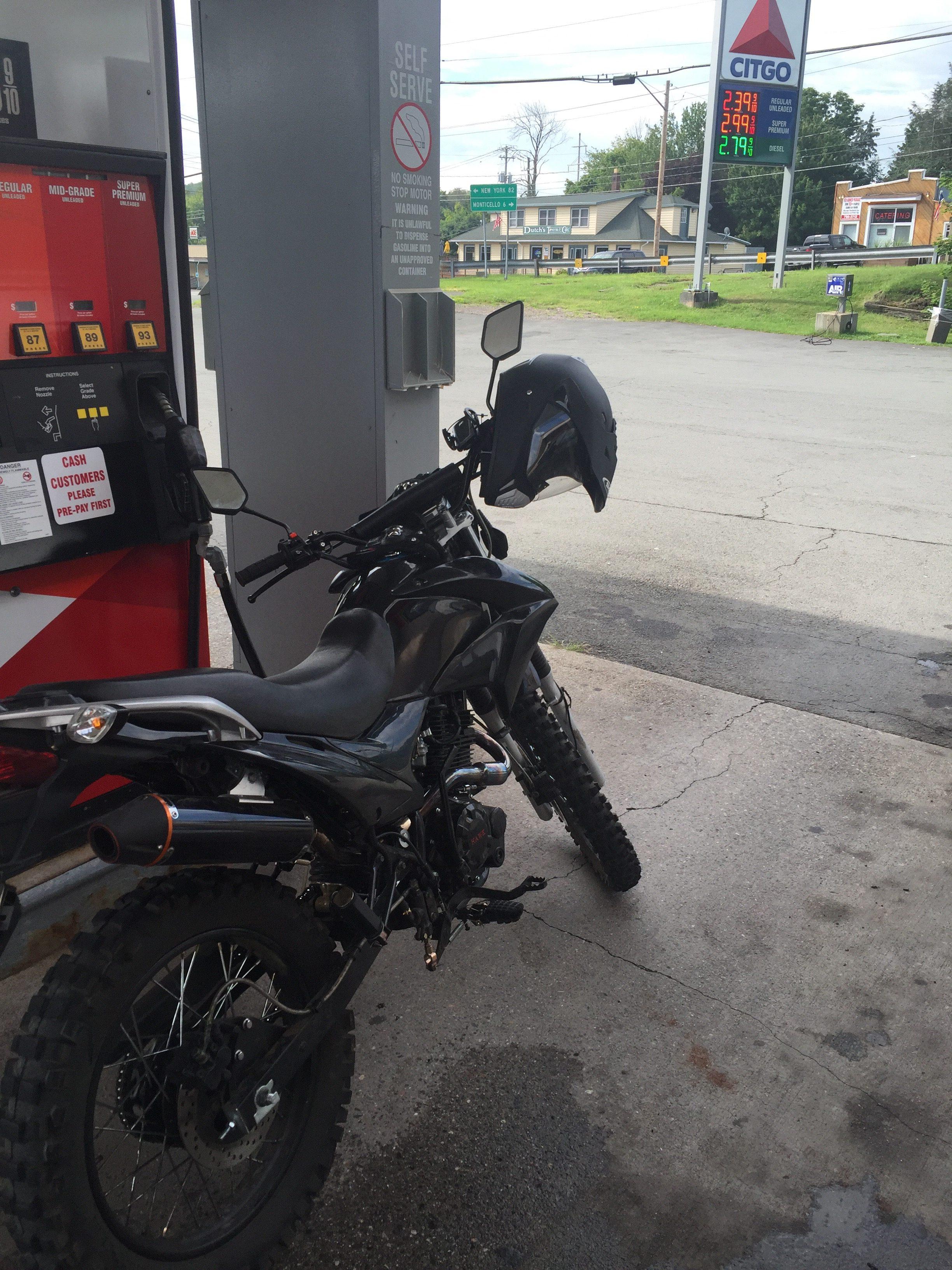 Hawk 250 Getting Some Gas