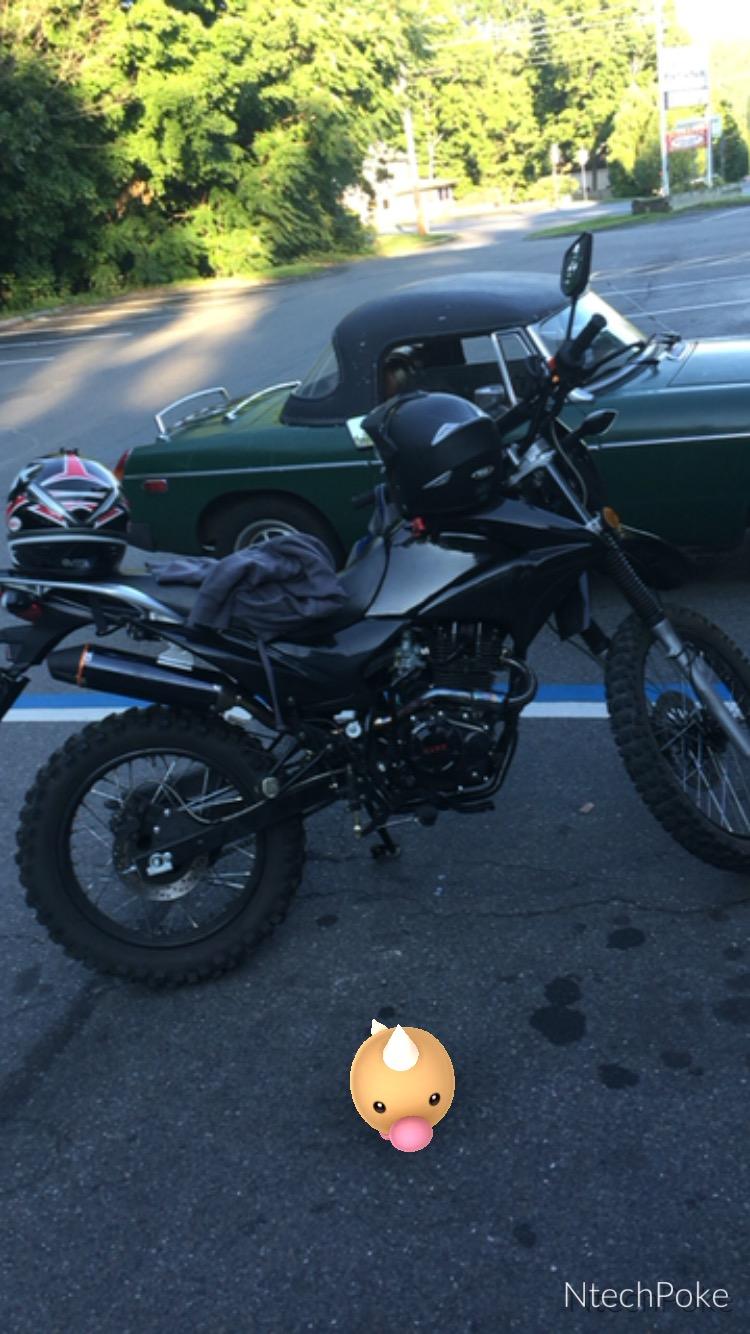 Hawk 250 Black Dirt Bike