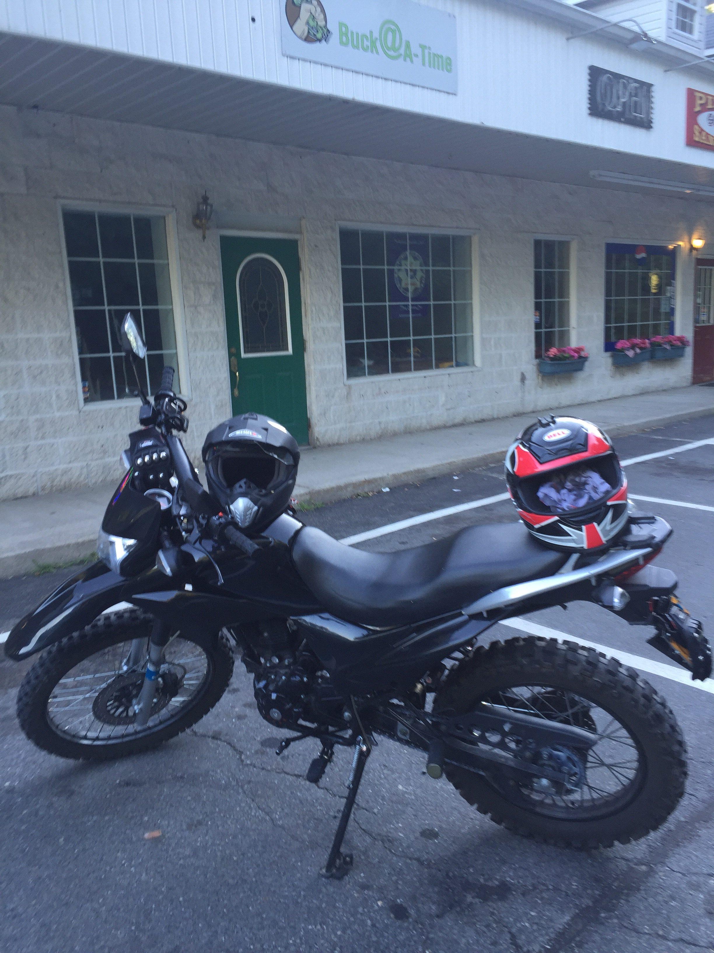 Hawk 250 RPS Dirt Bike Ride with Girlfriend