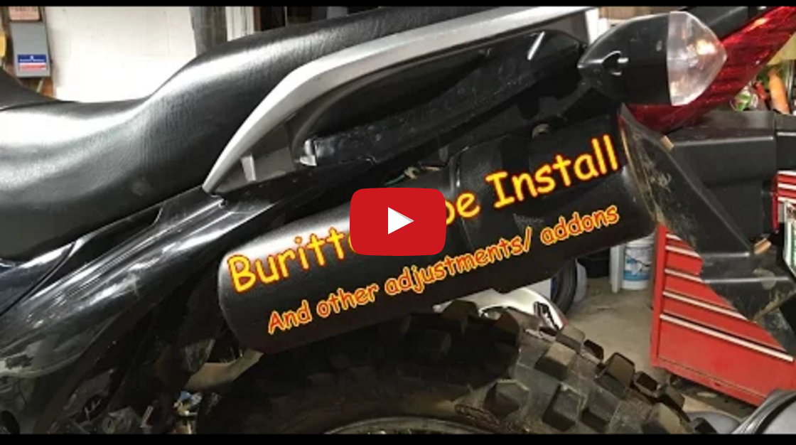 Hawk 250 - How to Install Buritto Storage Tube Video