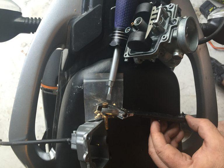 Hawk 250 Mikuni Carburetor and Jets