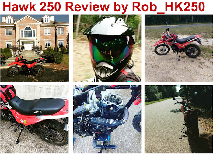 Hawk 250 Review from Rob_HK250