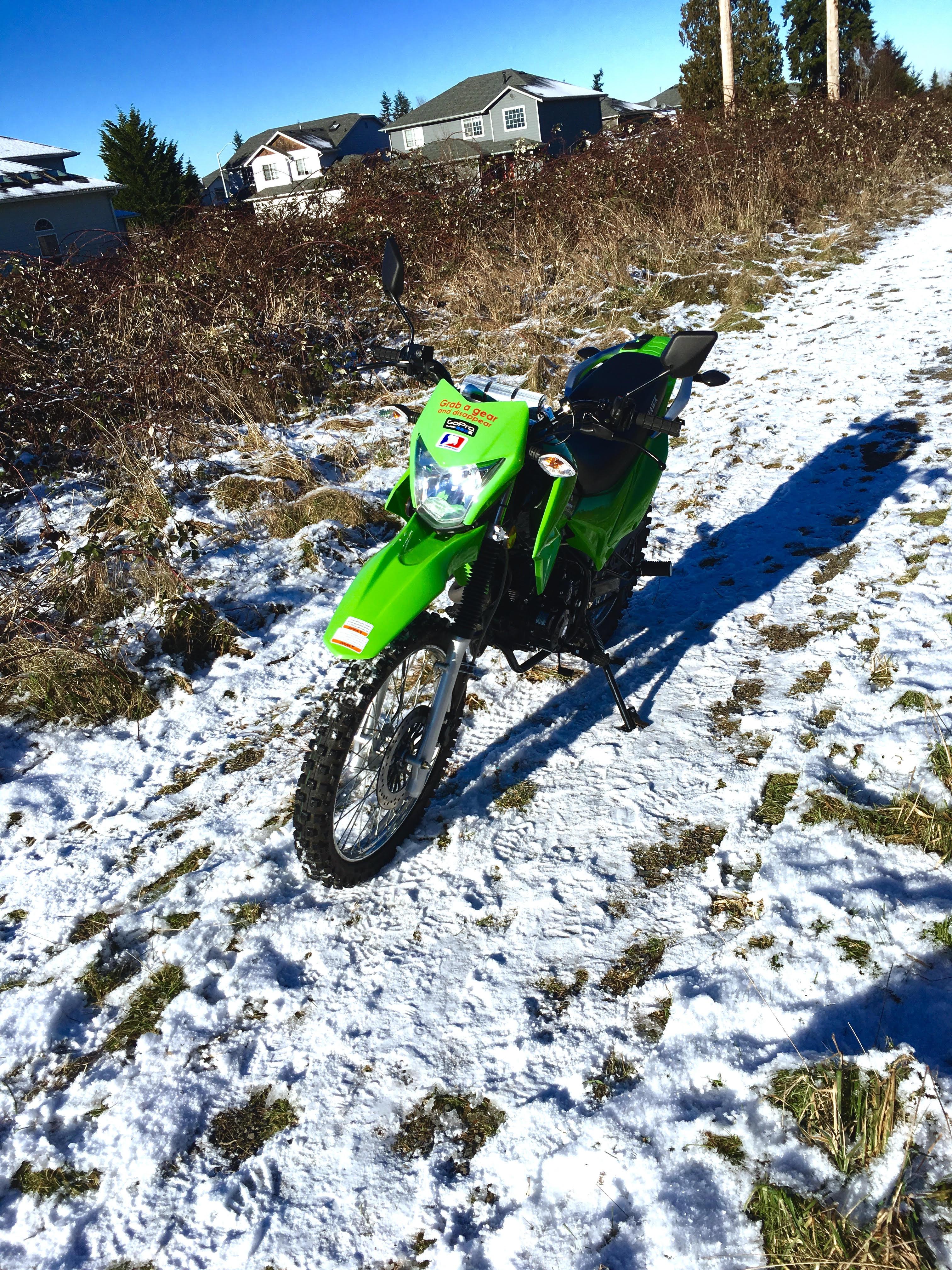 Hawk 250 Review Dual Sport Bike from Derek