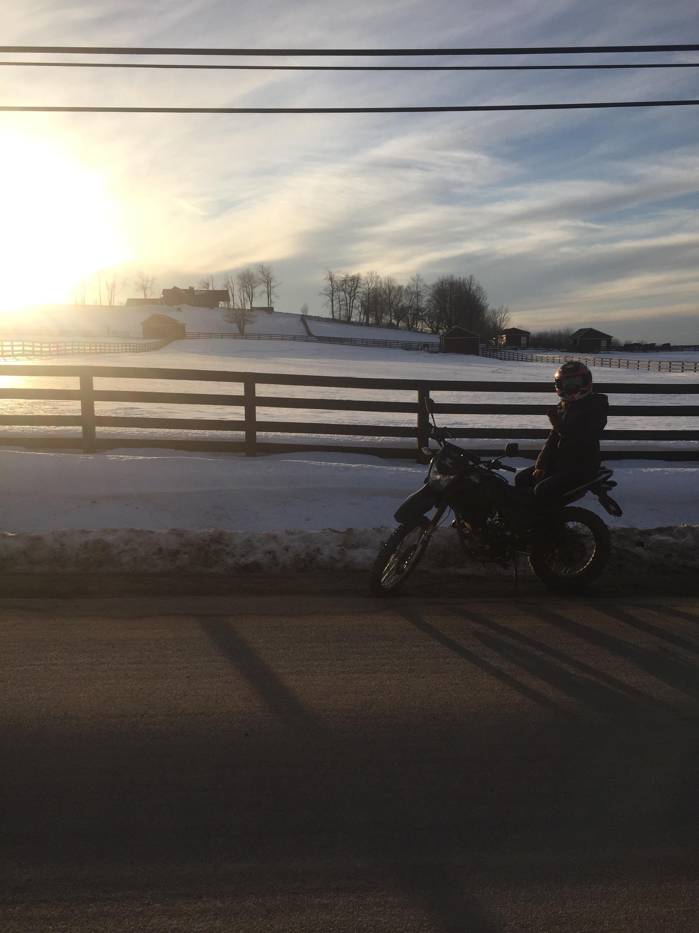 Hawk 250 Time Lapse Video Feb 18th Ride