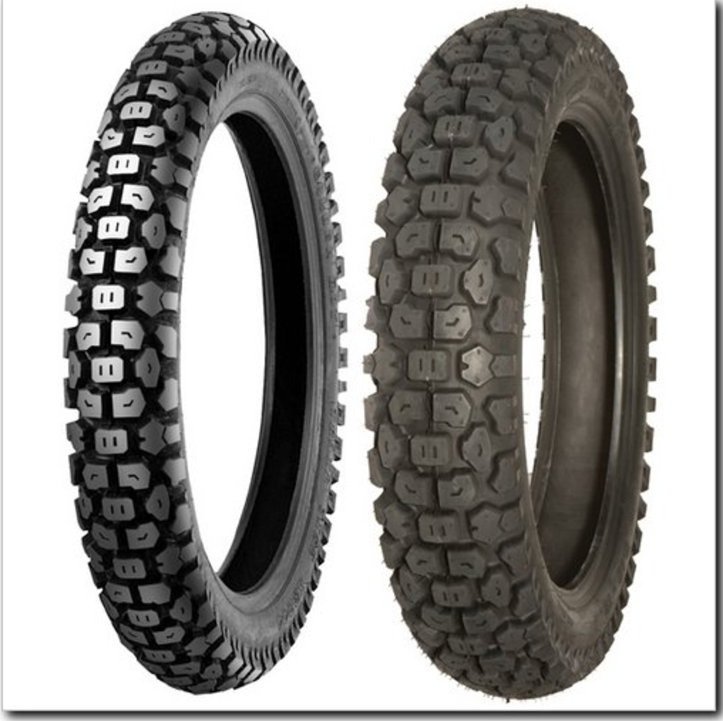 Just Ordered Shinko 244 Tires for Hawk 250 Dual Sport