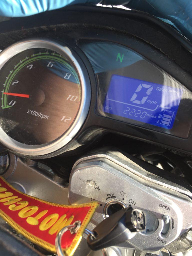 Doing Oil Change on Hawk 250 Dual Sport
