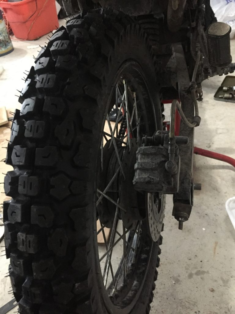 Hawk 250 Tires