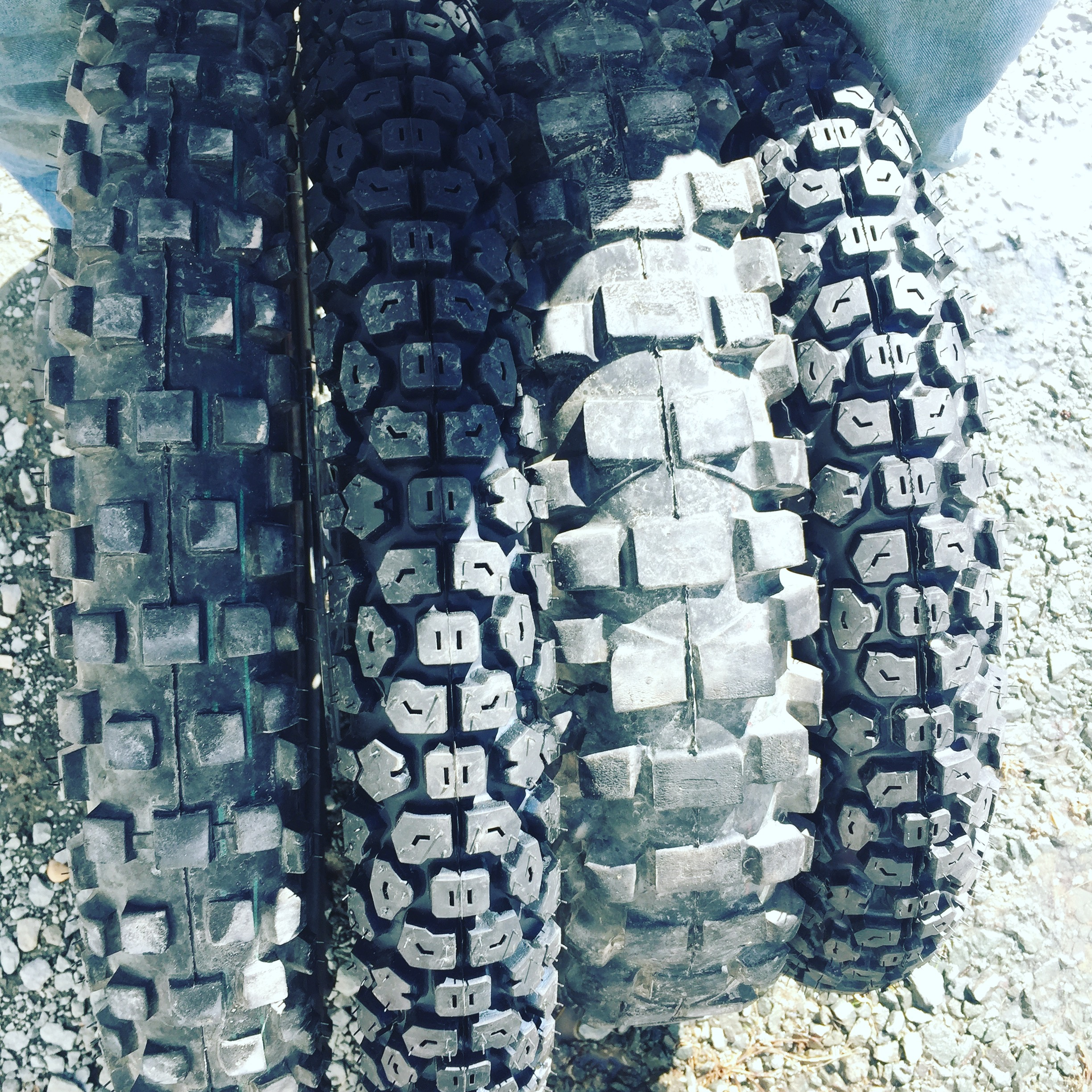 Installing Shinko 244 Tires on Hawk 250 Dual Sport