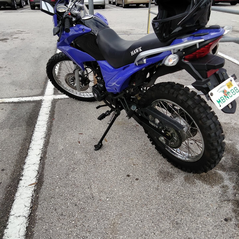 blue hawk 250 rps