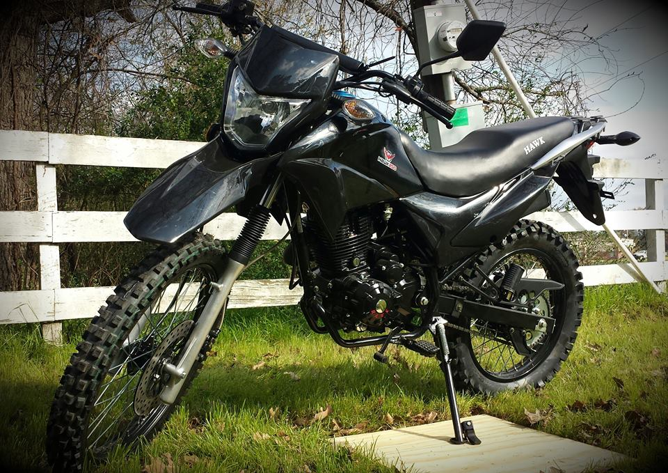 hawk 250 black