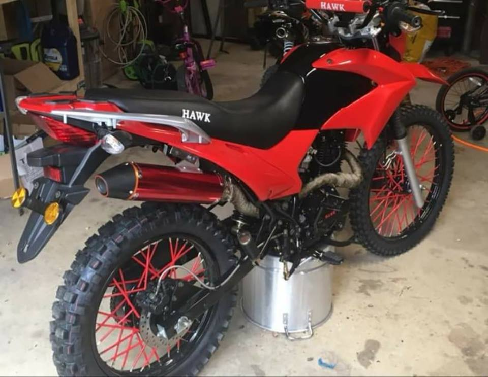 red hawk 250