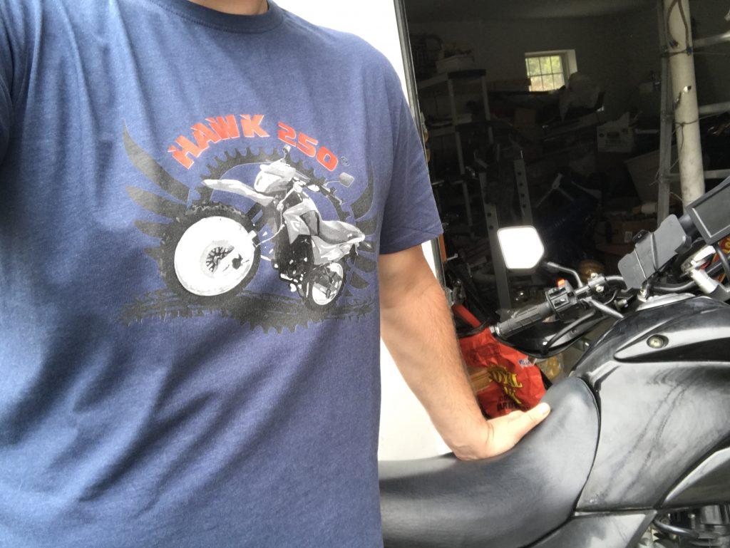 Just Got My First T-Shirt