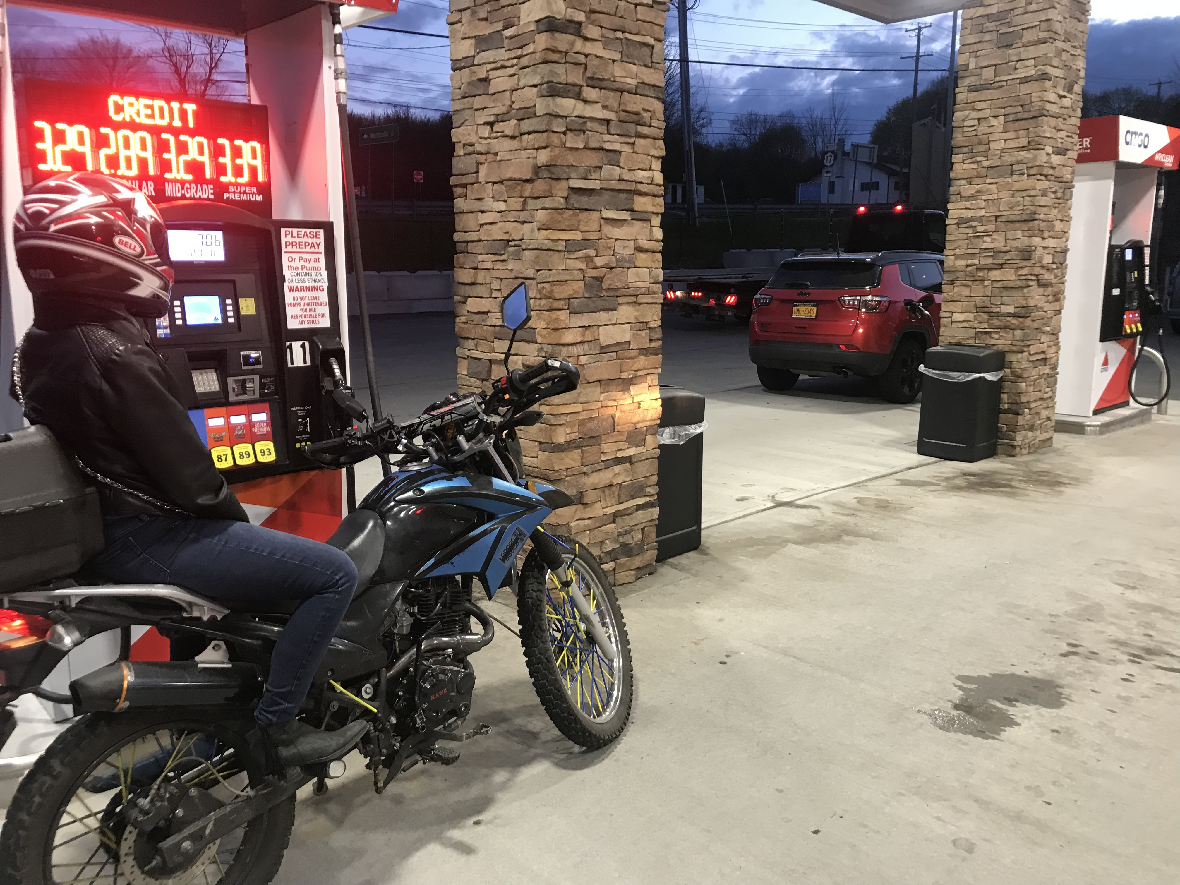 First Motorcycle Ride of 2019 with Girlfriend