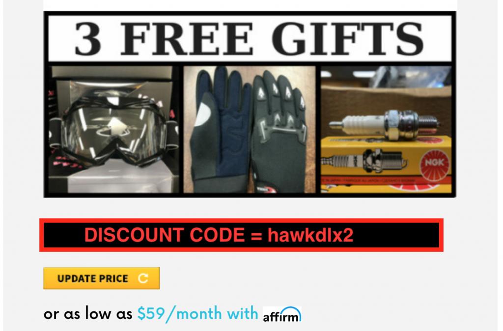 preorder hawk dlx free gifts